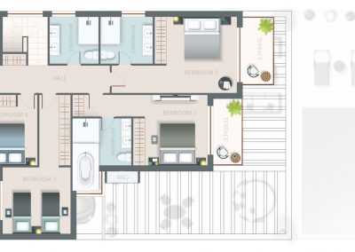 Floor Plan Villa